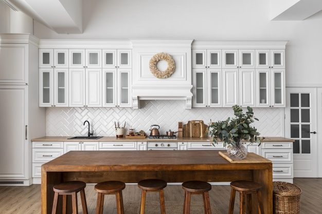 kitchen-interior-design-with-wooden-table_23-2148848661
